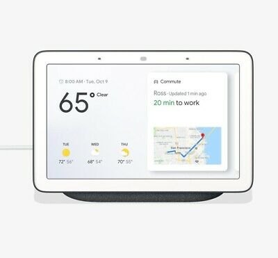 Google Home Hub - Smart Home Controller with Google Assistant - CHARCOAL
