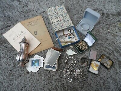 Job lot of mixed items - Vintage - Sterling silver - Jewellery plus loads more