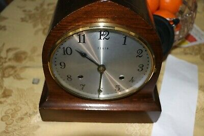 Antique ELGIN Brand Beehive Style Germany Made Regulator Mantel Clock,Gong chime