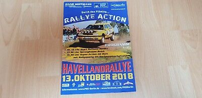 1 Programmheft Havellandrallye 2018 Rally Event Guide Havelland Motorsport