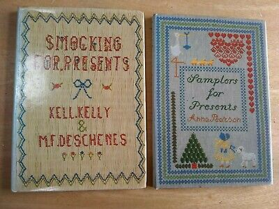 Vintage Sewing Books 1986 Smocking And Samplers for Presents Illustrated