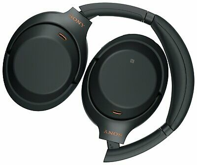 Sony WH-1000XM3 On-Ear Noise Cancelling Wireless Headphones - Black