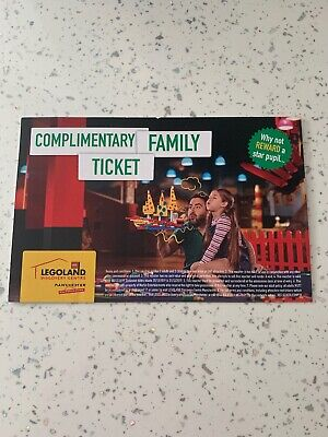 Legoland Discovery Centre And Sealife Centre Manchester Ticket For Family Of 4