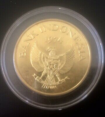 INDONESIA 100000 Rupias Gold Coin 1974