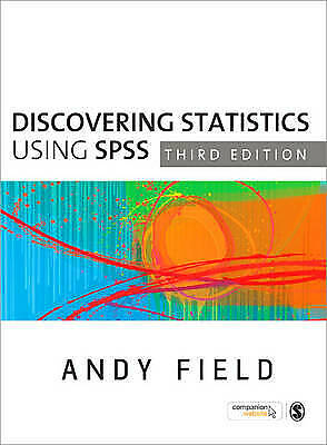 Discovering Statistics Using SPSS by Andy Field 4th Ed. (Paperback, 2009)