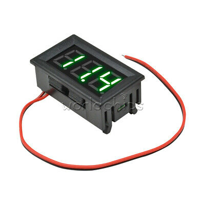 "0.56"" Inch Mini Voltmeter AC 70-500V Digital Green LED Voltage Panel Volt Meter"