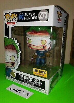 Funko Pop! DC The Joker Death of the Family #273 Hot Topic Exclusive NIB