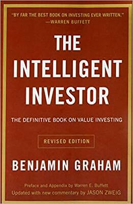 The Intelligent Investor: The Classic...by Benjamin Graham Paperback 2006