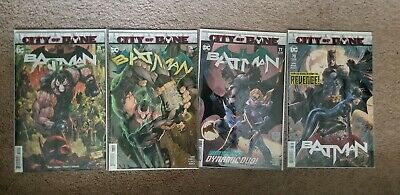 BATMAN #75 #76 #77 #78 - CITY OF BANE NM DC Comics KEY DEATH OF ALFRED