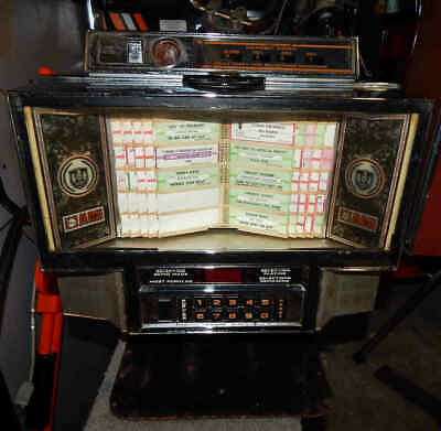 Used Rowe/AMI 45 RPM Jukebox Wall Box With Counter Mounting Bracket