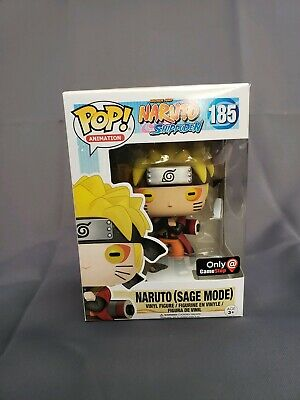 Funko Pop! Animation #185 Naruto (Sage Mode) Game Stop Exclusive MINT