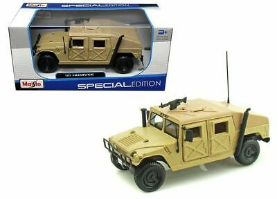 Maisto 1:27 Hummer Military Humvee Sand Diecast Truck Special Edition 31974Snd