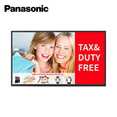 "Panasonic TH-65EF1W 65"" Commercial Display - RRP: $2899.00"