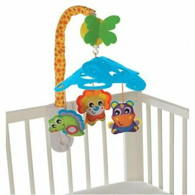 New Elephant Friend Mobile (D) Playgro Infant Kids Baby Safe Toddler Toy Fun