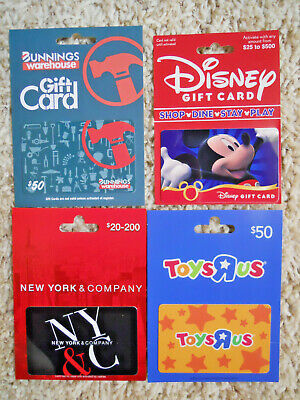 Collectible Gift Cards, new, unused, with backing, no value on cards      (H-4)