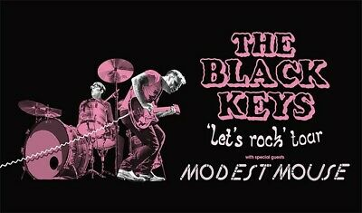 The Black Keys Lets Rock Tour with Modest Mouse Section 108 Row 27 - 2 Tickets.