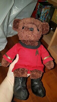 Star Trek The Experience. Uhura Teddy Bear