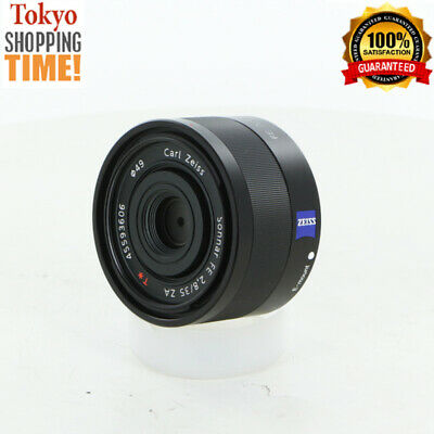 Sony Carl Zeiss Sonnar T* FE 35mm F/2.8 ZA for E-Mount Black Lens from Japan