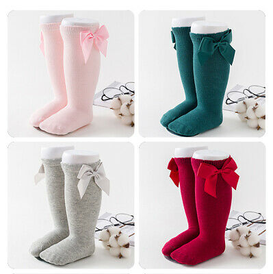 Girls Babys Toddlers Frilly Vintage Knee High Party Wedding School Socks Warmer