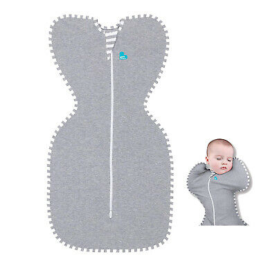 Love To Dream Swaddle UP, Gray,Newborn:5-8.5lbs,Small:7-13 lbs,Swaddle