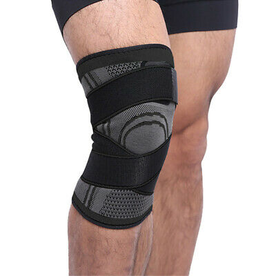 US Knee Sleeve Compression Brace Patella Support Stabilizer Sport Gym Joint Pain