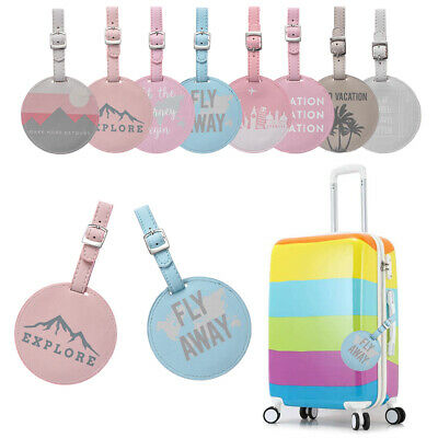 Travel Supplies Suitcase Label Baggage Claim Luggage Tag ID Address Tags