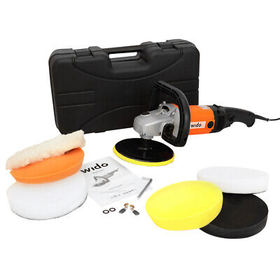 ELECTRIC POWER CAR POLISHER BUFFER KIT 1200W VARIABLE SPEED MACHINE WAXER Wido