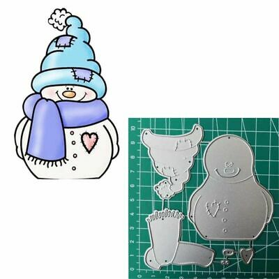 DIY Carbon Steel Snowman Metal Cutting Dies Stencil For Christmas Scrapbooking