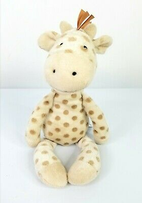 Little Jellycat London Baby Plush Lovey Rattle Georgie Giraffe Soft Toy 11""