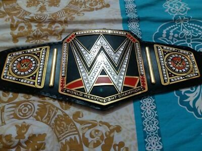 WWE World Heavyweight Wrestling Championship Leather Replica Belt Adult Size New