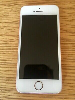 Apple Iphone Se A1723 Smartphone - 32Gb - Rose Gold - Unlocked - Not Working
