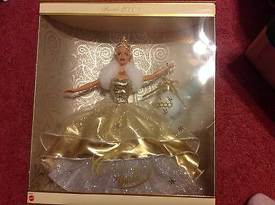 BARBIE Special Edition 2000 Celebration Holiday Sparkly Gold