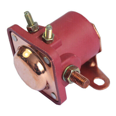 Red Solenoid Relay 12V For Ford 1965-1986 E6ef-11001-aa Sr550x Starter