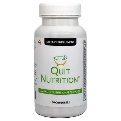 Quit Tea Smokers Nutritional Support 60 Capsules Natural Supplement