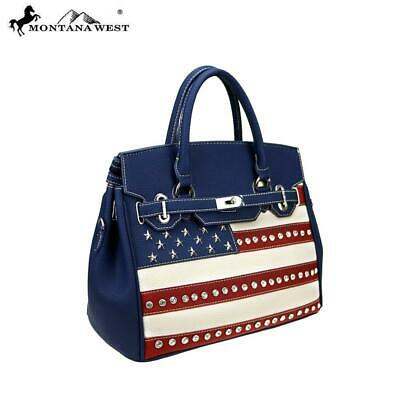 Montana West American Pride Collection Sacthel/Crossbody/Tote with wallet