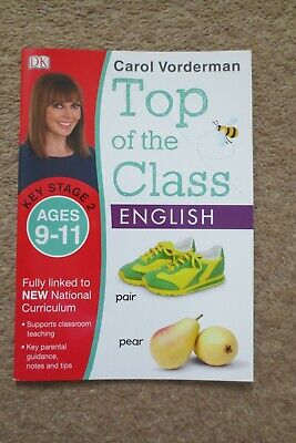 Carol Vorderman Top Of The Class English work book Key Stage 2, Ages 9-11