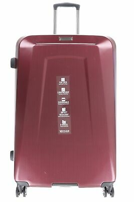 """Reaction Kenneth Cole 159505 8 Wheel Spinner Burgundy Suitcase Luggage 28"""""""