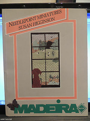 NEEDLEPOINT MINIATURES   BOOK By MADEIRA