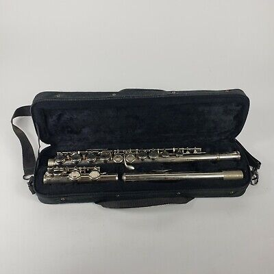 Cecilio FE-280N Nickel Plated Flute In Case Student