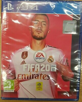 Sony Playstation 4 PS4 Fifa 20 game EA Germany cover NEW Free P&P