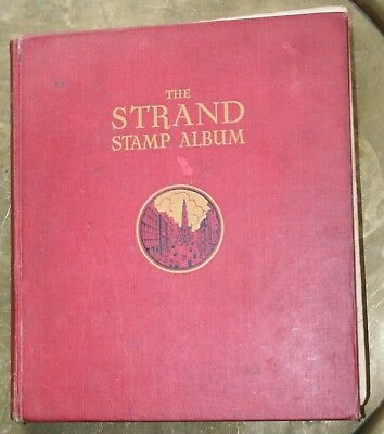 Stanley Gibbons The Strand Album. Twenty Second Edition With Approx 140 Stamps