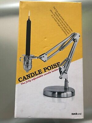 SUCK UK Candle Poise - Adjustable Candle Holder BNIB