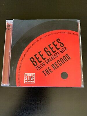 The Bee Gees - Their Greatest Hits: The Record - 2 CD set!