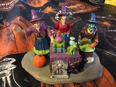Lemax 23950 POTION TIME! Spooky Town Halloween Decor Witches Table Accent