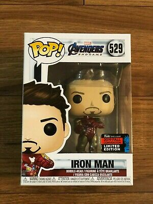 Funko Pop IRON MAN Avengers Endgame NYCC 2019 SHARED Exclusive Free Shipping