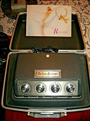 Vintage Model 25 RELAXACIZOR ELITE Relax-A-Cizor Weight Loss/BodyToning Machine