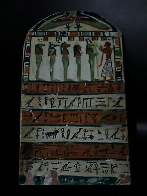 Ancient Egyptian Wooden Stella BC 2