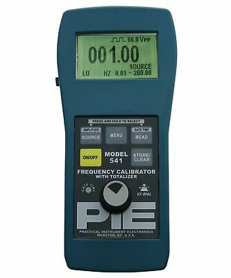 PIE Model 541 Frequency Calibrator with Totallizer