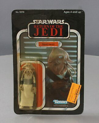 Kenner 70770 Star Wars Return of the Jedi Squid Head Action Figure (Unpunched Ca