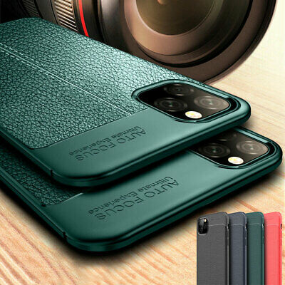 Slim Shockproof Rubber TPU Leather Soft Back Case Cover for iPhone 11 Pro Max XR